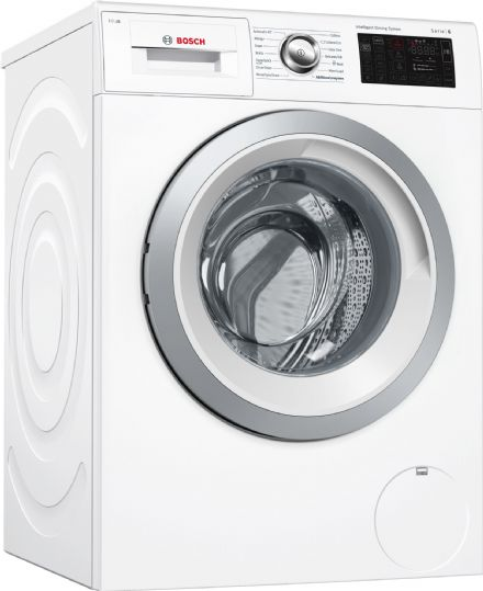 Bosch WAT286H0GB 9kg 1400 Spin Series 6 iDos Washing Machine With Home Connect